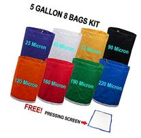 E-ONSale Herbal Ice Bubble Hash Bag Essense Extractor Kit, 5