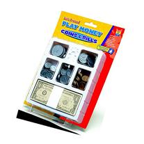 EDUCATIONAL INSIGHTS LETS PRETEND PLAY MONEY COINS