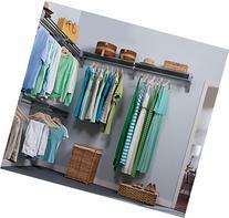 EZ Shelf - 18 ft. Closet Organizer Kit. Up to 18.4 ft.