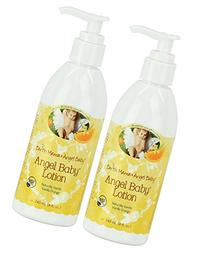 Earth Mama Angel Baby Angel Baby Lotion, 2 Pack - 8 Oz