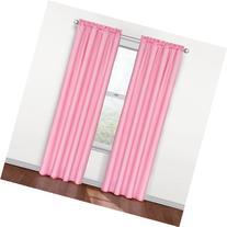 Eclipse Kids Polka Dots Blackout Window Curtain Panel, Pink