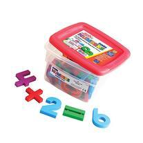 Educational Insights Jumbo MathMagnets- Multicolored
