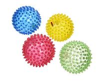 Edushape See-Me Sensory Balls, 4 Inch, Translucent, 4 Ball