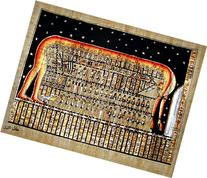 Egyptian Hand-Painted Papyrus Artwork : The Sky Goddess Nut