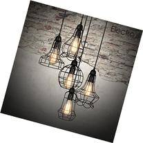 Electro_bp;rustic Barn Metal Chandelier Max 200w with 5