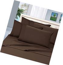 Elegant Comfort 1500 Thread Count Egyptian Quality 4-Piece