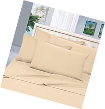 Elegant Comfort 4-Piece 1500 Thread Count Bed Sheet Set with