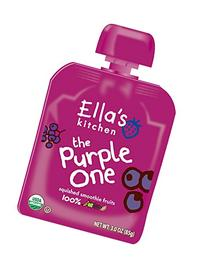 Ella's Kitchen Organic Smoothie Fruits, The Purple One, 3