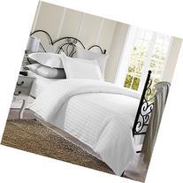Ellington Home 1800 Series 3 Piece Damask Stripe Duvet Cover