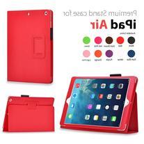 Elsse For iPad Air - Premium Folio Case with Built in Stand