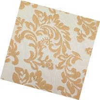 Embroidered lace Gold 60 inch Fabric by the Yard