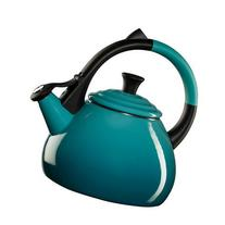 Enamel On Steel 1.6 Qt. Oolong Tea Kettle Color: Flame