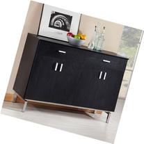 Enitial Lab Nathan Black Dining Server/Buffet