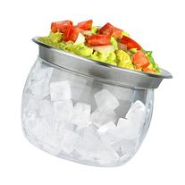 Estilo Stainless Steel Dip Chiller Bowl with Acrylic Ice
