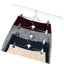 Evelots Metal Non Slip Rubber Coated Cascading Pant, Skirt