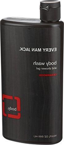 Every Man Jack Body Wash and Shower Gel Cedarwood, 16.9