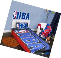 Exclusive NBA Collection 4 Pcs Twin Comforter Quilt & Sheet