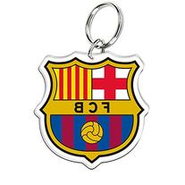 """FC Barcelona Official SOCCER 3"""" Key Ring Keychain by"""
