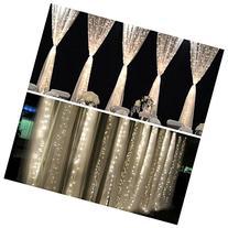 FEFE® Crystal LED Lights 9.8ft*9.8ft 304 LEDs String Lights