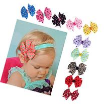 FEITONG 10PC Cute Flower Toddlers Baby Headband Hairband