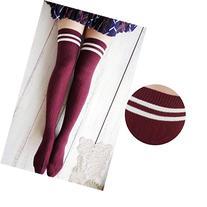 FEITONG 2016 New Women Girls Wind Thigh High Socks Stockings