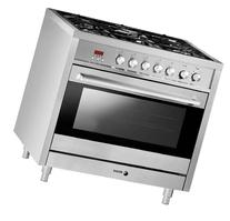 Fagor RFA-365 DF Dual Fuel Range with Dual Convection, 5 Gas