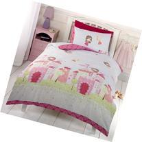 Fairy Castle Junior/Toddler Duvet Cover & Pillowcase Set
