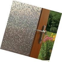 Fancy-fix Cut Glass Mini Mosaic Decorative Window Film 17.7