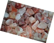 Fantasia Materials: 1 lb Fire Quartz Rough -  - Raw Natural