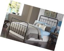 Fairfield Complete Bed with Metal Panels and Castings, Dark