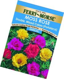 Ferry-Morse Moss Rose Double Mixed Colors Seeds