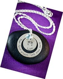 First Breath Necklace – DII ABC - New Mom Gift -