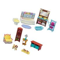 Fisher-Price Loving Family Dollhouse Living Room and
