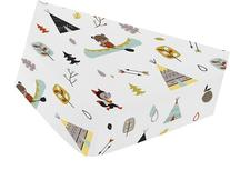 Sweet Jojo Designs Fitted Crib Sheet for Outdoor Adventure