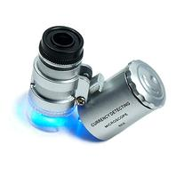 Focuslife 60X Magnifying Loupe Jewelry Jewelers Pocket