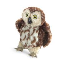 Folkmanis Saw-Whet Owl Hand Puppet