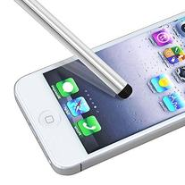 For iPod Touch Stylus Pen Soft Finger-touch Screen Silver