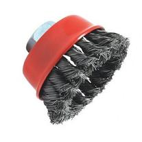 Forney Welding - 72757 - 2-3/4X5/8-11 Thd Knot Cup Brush -