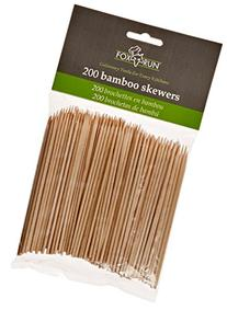 Fox Run Brands Bamboo Skewers, 4-inch