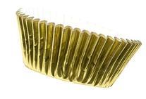 Fox Run Gold Foil Standard Bake Cups, 32 Cups