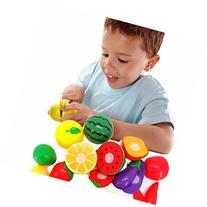 Franterd, Children Kid Cutting Fruit Vegetable Pretend Play