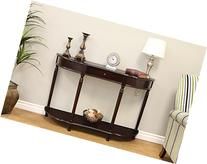 Frenchi Home Furnishing Console Sofa Table with Drawer,