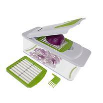 Freshware KT-406 7-in-1 Onion Chopper, Vegetable Slicer,