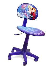 Frozen Rolling Task Chair for Kids Office Adjustable Swivel