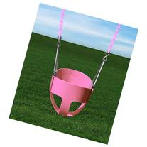 Gorillaplaysets Full Bucket Toddler Swing - Pink