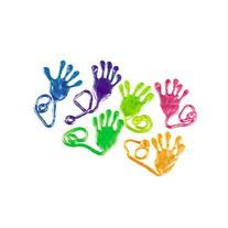 Fun Express Jumbo Pearlized Sticky Hands