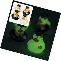 Fun Express Mini Glow-in-the-Dark Graduation Rubber Ducky