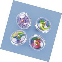 Fun Express Plastic Swirl Spin Tops