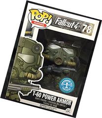 Funko Pop Fallout Green T-60 Power Armor Vinyl Figure RARE