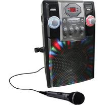 GPX - Karaoke Party Machine with Multi-Color LED Light